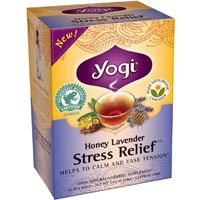 Yogi Honey Lavender Stress Relief Tea, 16 Tea Bags