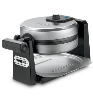 Waring WWM450PC Pro Stainless Steel Rotating Style Single Belgian Waffle Maker (Certified Refurbished) (Belgian Style Waffle compare prices)