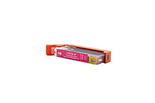 Kompatibel für Canon Pixma IP 7250 Tinte Magenta - CLI-551M XL / 6445B001 - Inhalt: 12 ml