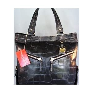 Dooney & Bourke Sara Embossed Leather Croc Tote Bag