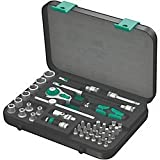 Socket Set, 1/4 In Dr, 41 Pc