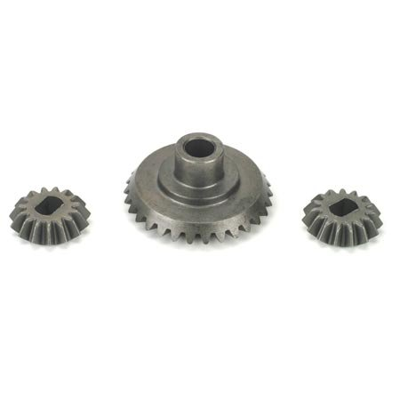 Front/Rear Bevel Gear Set: LST/2, XXL/2
