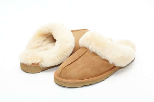 Image of UniKoala Women's Classic Sheepskin Slipper Chestnut (B006YMAJJ0)