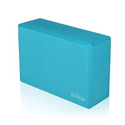 diMio Yogablock aus Hartschaum in 5 Farben 22,6x14,9x7,5cm