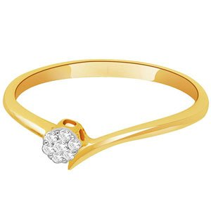 Gili Diamond Ladies Ring IRL039 | Color Yellow