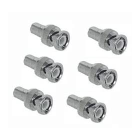 Q-See QSRCBN6 6 Pack RCA-BNC Connectors