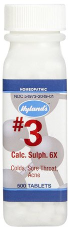 Calacarea Phosphorica 6X, #2 Hylands 500 Tabs