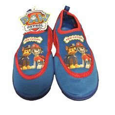 PAW Patrol Characters Toddler\'s Mesh Beach/Pool Water Shoes 5/6