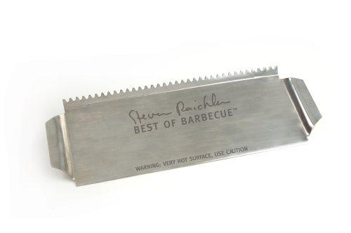 Steven Raichlen SR8031 Stainless Grill Shield for Skewers