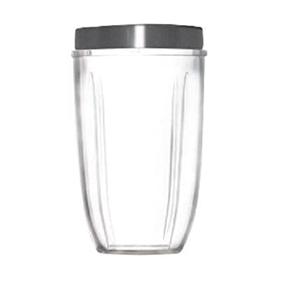 NUTRIBULLET TALL CUP WITH LIP RING- AUTHENTIC NUTRIBULLET ACCESSORIES, REPLACEMENT PARTS by Nutribullet