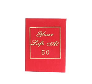 50th Birthday Photo Album - Your Life Book by WDD
