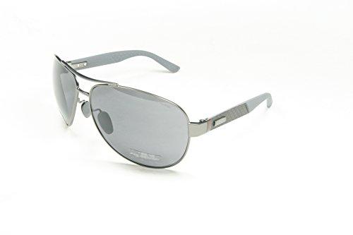 Gucci Sunglasses 2246/S 04Vq Semi Matte Dark Ruthenium 65Mm