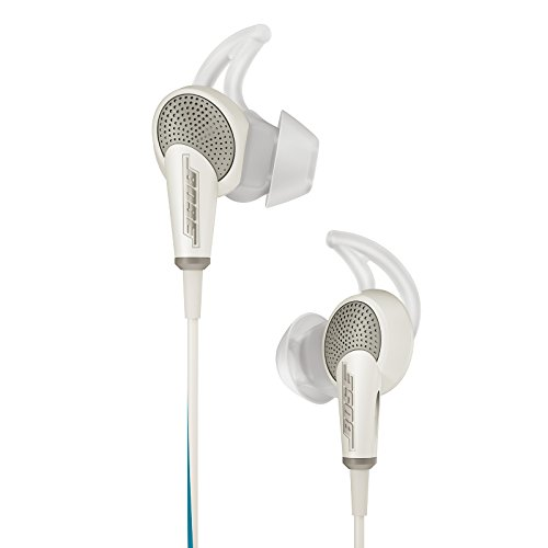 Bose discount duty free Bose QuietComfort 20 Acoustic Noise Cancelling Headphones, Samsung and Android Devices, White