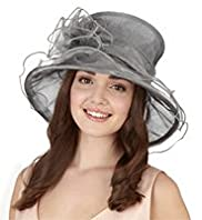 Sparkle Mesh Fluted Edge Hat