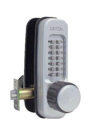 Lockey 1600-Sc Mechanical Keyless Heavy Duty Knob Lock With Passage Function - Satin Chrome