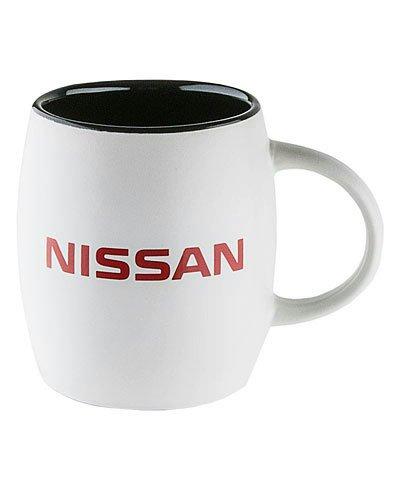 Nissan White Ceramic Coffee Mug (Nissan Mug compare prices)
