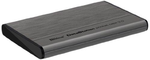 TrekStor DataStation pocket capa 3.0 1TB externe Festplatte (6,4 cm (2,5 Zoll), USB 3.0) anthrazit