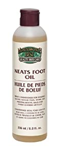 Moneysworth and Best Shoe Care Neats Foot Oil, 8-Ounce by Moneysworth and Best Shoe Care INC.