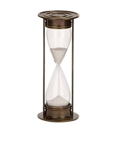 Hour Glass Timer, Brown/Clear