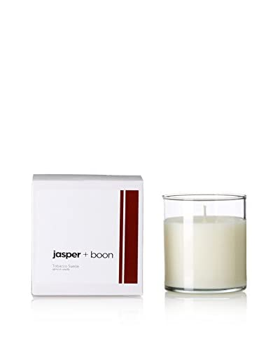 Bluewick Candles 12-Oz. Tobacco & Suede Jasper + Boon Boxed Candle