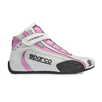 Sparco - Chaussures Formula + Sl8 Blanc Rose - 42