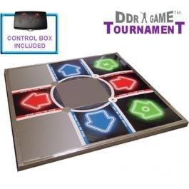 New PS1/PS2 Dance Pad Metal Tournament Advanced Wiring For Super Sensitivity EVA Foam Base