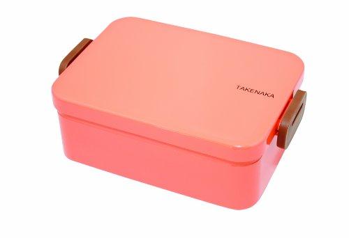 Takenaka Deep Bento Box, Coral front-405364