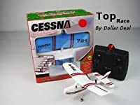 Cessna 781 Electric 2 Ch Infrared Remote Control RC Airplane RTF (Colors Vary) from Top Race