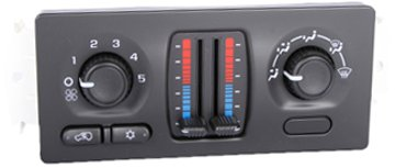 Acdelco 15-72957 Gm Original Equipment Heating And Air Conditioning Control Panel front-624095
