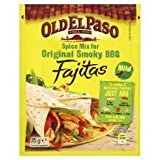 Old El Paso Spice Mix For Original Smoky BBQ Fajitas 35G