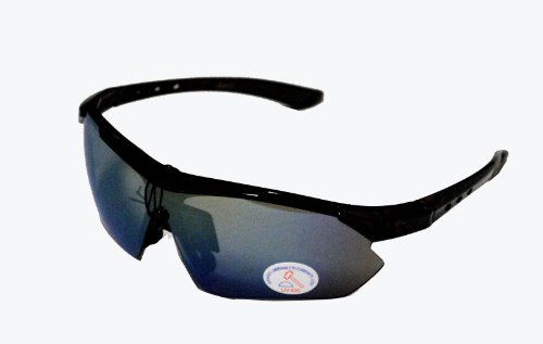 Ultra Light Outdoor Sport Sunglasses for Golf, Fishing, Cycling and All Active Sports