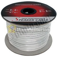 100Ft 14Awg 2 Wire Cm Rated Speaker Wire Cable (For In-Wall Installations)