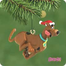 2001 Hallmark Keepsake MIni Ornament Scooby-Doo QXM5322