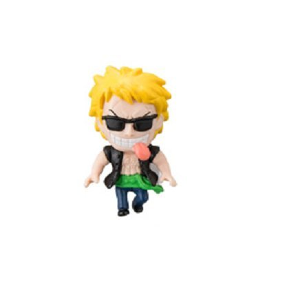From TV One PIece ~Corrida Colosseum~ Figure Mobile Charm Strap~Bellamy 36mm