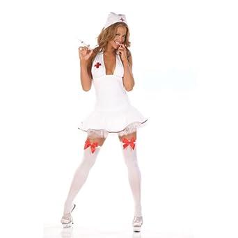 Amazon.com: Sexy Slutty Nurse Adult Costume: Clothing