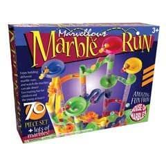 70 piece Marble Run + lots of marbles!