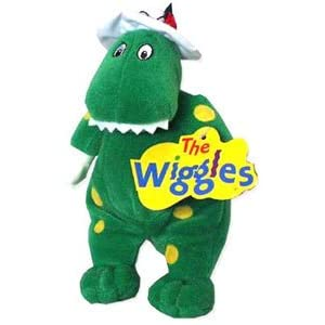 Amazon.com: The Wiggles Dorothy the Dinosaur Plush Beanie: Toys ...