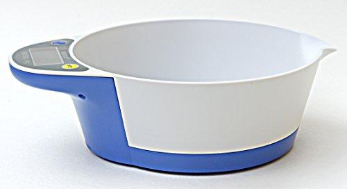 RunFa Balance de cuisine électronique bol récipient culinaire 1g à 5kg Bleu