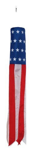 In the Breeze Stars and Stripes Valuesock, 50-Inch