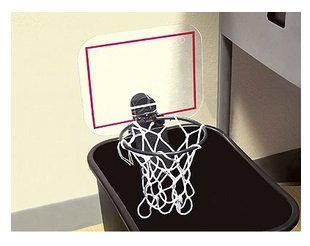 The Cheering Basket Ball Hoop (Trash Can Carrier compare prices)