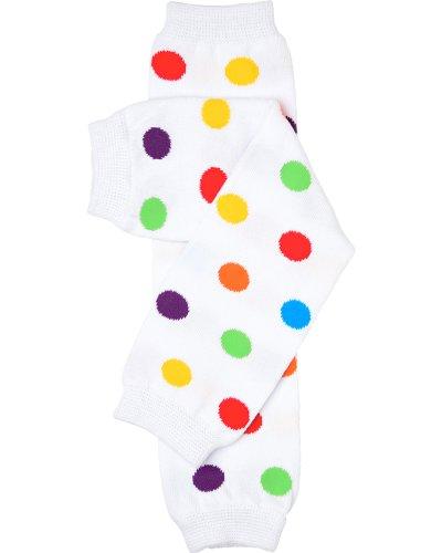 juDanzy rainbow polka dot baby & toddler leg warmers