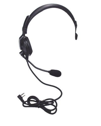 Kenwood Khs7 Single Muff Headset With Boom Microphone