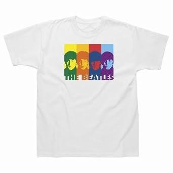 Retro Rainbow T/Shirt-White-S