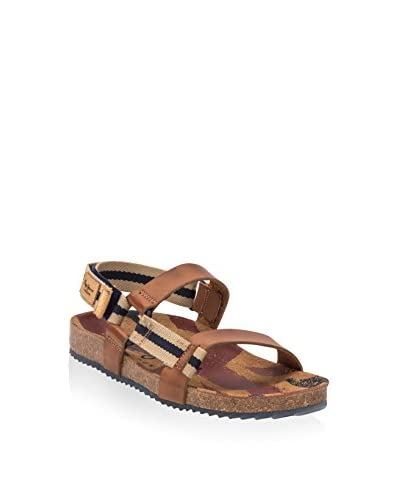 Pepe Jeans Sandale Bio Velcro Junior beige