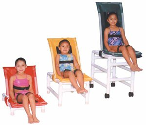 Articulating Shower/Bath Chairs Small Articulating Shower/Bath Chair 17''W X 32''L (43 X 81Cm), Inte front-1038309