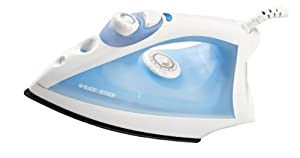 Black and Decker F210 Steam Iron With Nonstick Soleplate