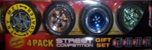 Fly Wheels 4 Pack: Street vs. Offroad