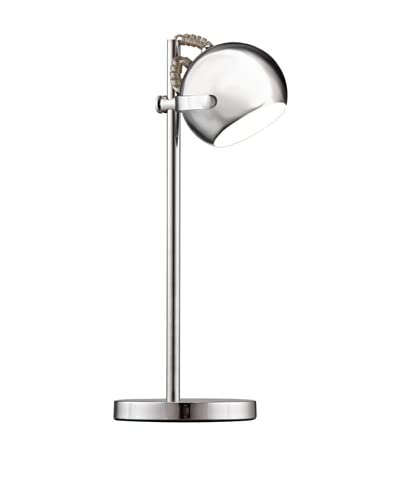 Zuo Cyber Table Lamp, Chrome