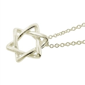 Inspired Star of David Sterling Silver Necklace