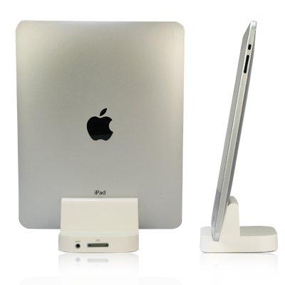 Three-beans iPad Docking Station (Charging Stand) iPad用 充電スタンド ホワイト(220-1)